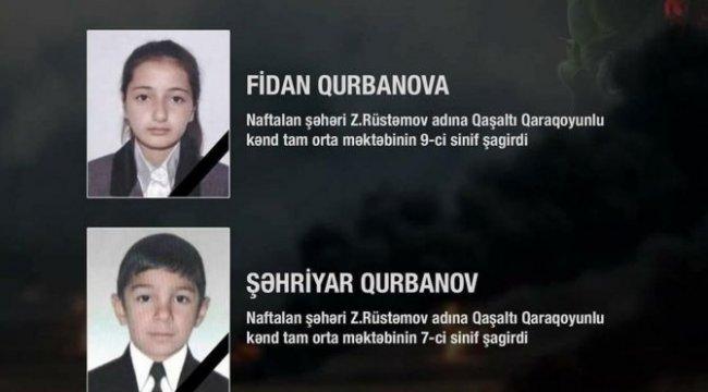 Ermenistan saldırısında iki ortaokul öğrencisi hayatını kaybetti