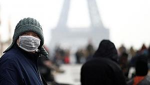 Fransa'da son 24 saatte 10 bin 8 yeni koronavirüs vakası