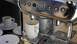 Hacklenen kahve makinesi çok tehlikeli olabilir
