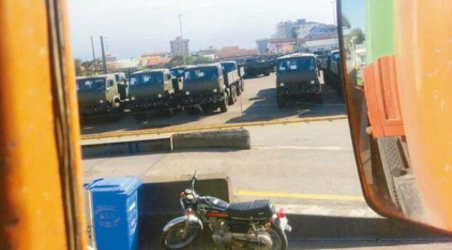 İran Ermenistan'a silah kapısı oldu