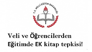 Küçükçekmece'de Öğrenci Velilerin Eğitimde EK kitap isyanı