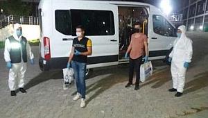 Kütahya'da karantinaya uymayan 3 kişi yurda yerleştirildi