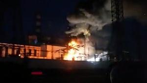 Rusya'da otelde dev yangın