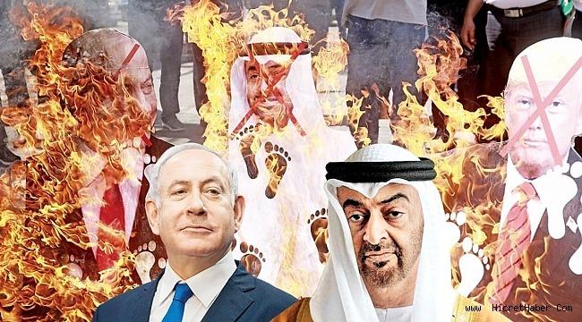 Filistin'i yok sayan anlaşma! Beyaz Saray'da imzalar atıldı...