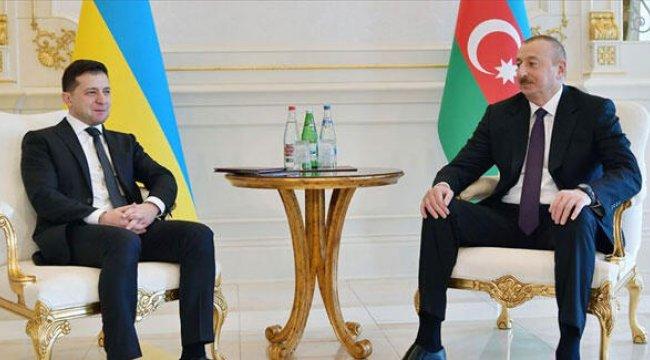Zelenskiy, Aliyev ile telefonda görüştü