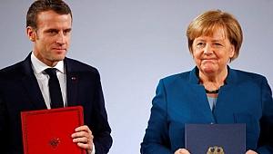 AB zirvesinde Macron ve Merkel'den Türkiye açıklaması