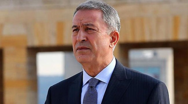 Akar, KKTC Cumhurbaşkanı seçilen Tatar'a tebrik mesajı gönderdi