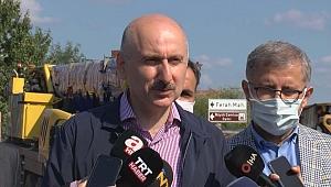 Bakan Karaismailoğlu: Yeni kulede çalışmalar bitme aşamasında