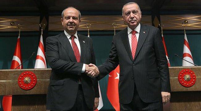Cumhurbaşkanı Erdoğan, Tatar'ı arayarak tebrik etti