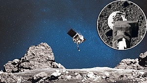 NASA'dan Bennu'ya öpücük