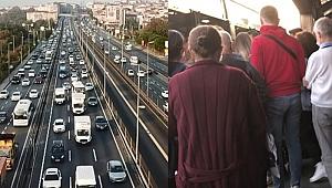 Yüz yüze eğitimde ikinci aşama bugün başladı! İstanbul'da trafik oluştu