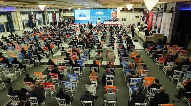 AK Parti İstanbul'da 10 ilçede başkan adaylarını açıkladı...