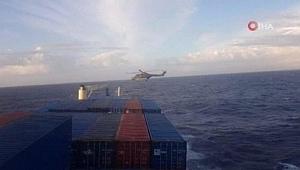 Almanya'dan 'Türk gemisine baskın' açıklaması