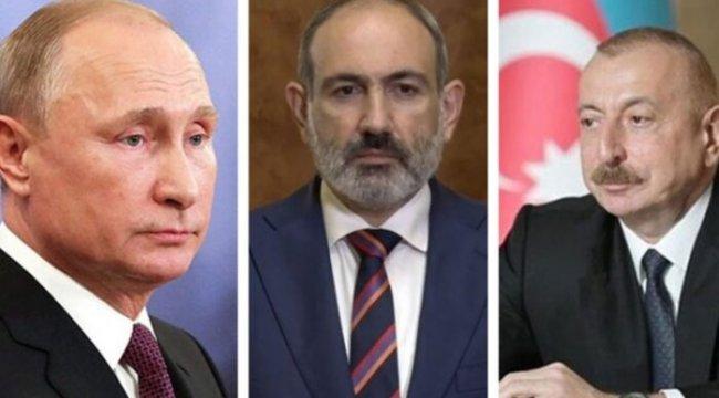 Putin, Aliyev ve Paşinyan ile telefonda görüştü