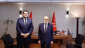 Saadet Partisi'nin İstanbul İl Başkanlığına Ömer Faruk Yazıcı getirildi.