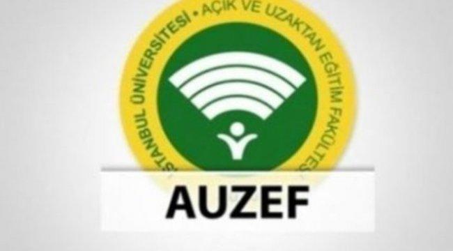 AUZEF güz dönemi final sınavı ne zaman? İstanbul Üniversitesi AUZEF sınav tarihleri!