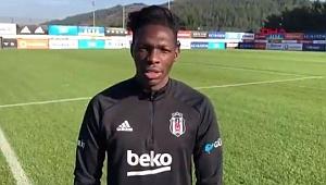 Beşiktaş'ın futbolcusu N'Sakala'dan Pierre Webo'ya destek mesajı