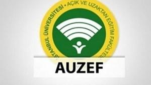 AUZEF sınav tarihleri 2021... AUZEF güz dönemi final sınavı ne zaman? İstanbul Üniversitesi AUZEF sınav tarihleri!