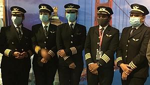 Hintli kadın pilotlar uçuş rekoru kırarak havacılık tarihine geçti!