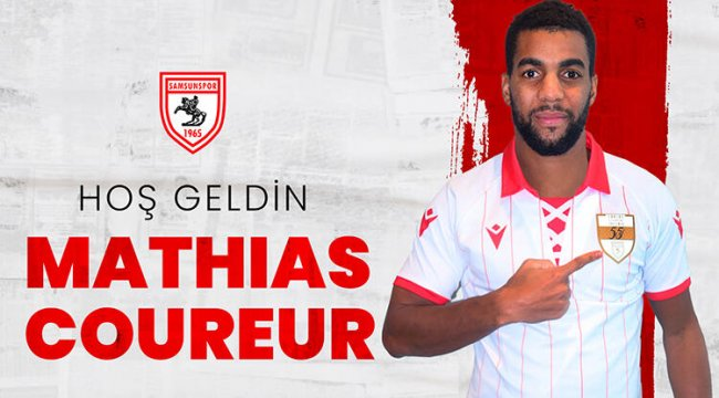 Samsunspor, Mathias Coureur ve Jugurtha Hamroun'u transfer etti
