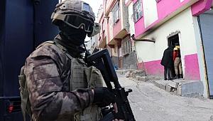 Gaziantep'te, 750 polisle uyuşturucu operasyonu başladı