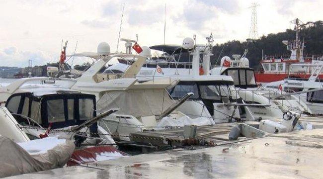 İstanbul Boğazı'nda tekne yoğunluğu