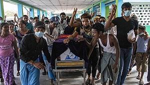 Myanmar'da ölenlerin sayısı 510'a yükseldi