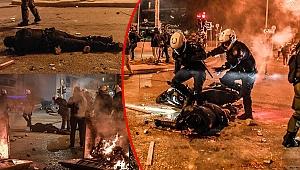 Yunanistan yangın yeri! Atina sokakları savaş alanına döndü