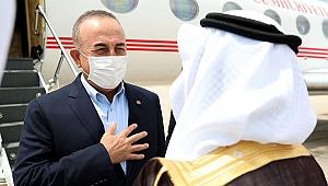 Dışişleri Bakanı Çavuşoğlu Suudi Arabistan'da