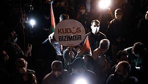 Kudüs'e destek gösterisi