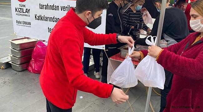 Türk Kızılay Ramazan Bereketini küçükçekmecede yaşattıyor