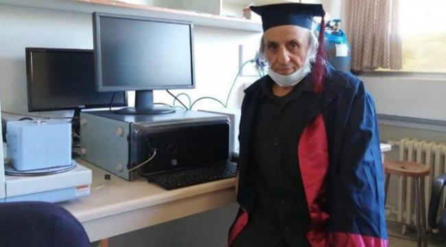 67 yaşında mezun oldu! Yeni hedefini açıkladı