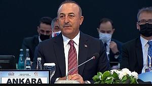 Çavuşoğlu: Sorunlara diyalog yoluyla çözüm arayan Güneydoğu Avrupa var