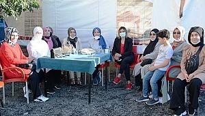 Küçükçekmece Ak Parti Kadın Kolları çalışıyor