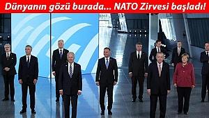 Son dakika: Erdoğan'ın üç liderle görüşmeleri sona erdi... NATO Zirvesi'nde resmen başladı!
