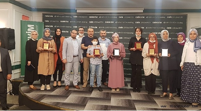 KİGEDER ;''Geleceğin Önderlerinden İz Bırakan Öncü Şahsiyetlere Mektup'' ödülleri verildi