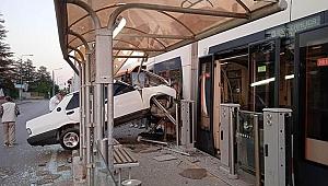Eskişehir'de şaşırtan kaza