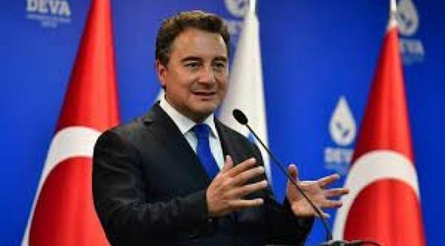 DEVA Partisi Genel Başkanı Babacan: Ticarette kâr değil, ar yılındayız