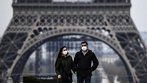 Fransa'da son 24 saatte 3 bin 42 Kovid-19 vakası kaydedildi