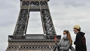 Fransa'da son 24 saatte 5 bin 814 Kovid-19 vakası belirlendi