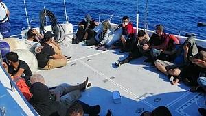 Marmaris'te 50 kaçak göçmen kurtarıldı