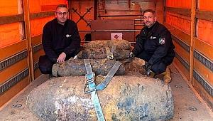 Almanya'da İkinci Dünya Savaşı'ndan kalma 5 bomba imha edildi
