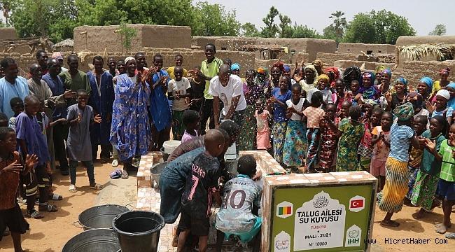 İHH'nın 10 bininci su kuyusu Mali'de açıldı