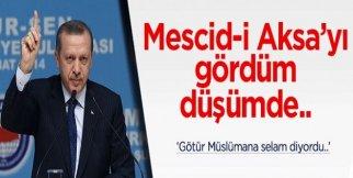 Mescidi Aksa filminde Erdoğan var - Mescidi Aksayı gördüm düşümde