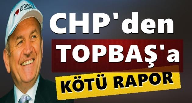 CHP'den Topbaş'a Kötü Rapor