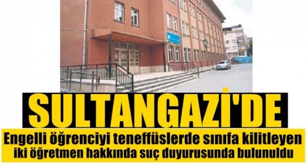 Sultangazi'de  Öğretmen İhmali