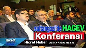 Hagev Sultangazi'de Mekke Kudüs Konferansı Yaptı
