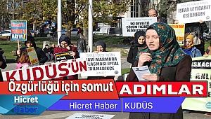Adb,İsrail İşbirlikçiliği Protesto Edildi
