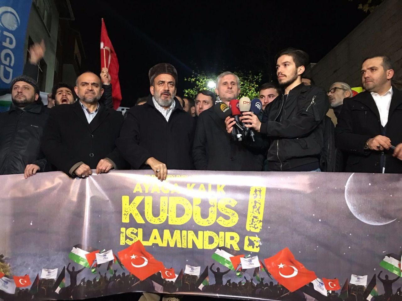 İstanbul AGD Amerika Konsolosluğunu Kuşattı
