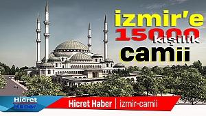İzmir'e Dev Camii Projesi